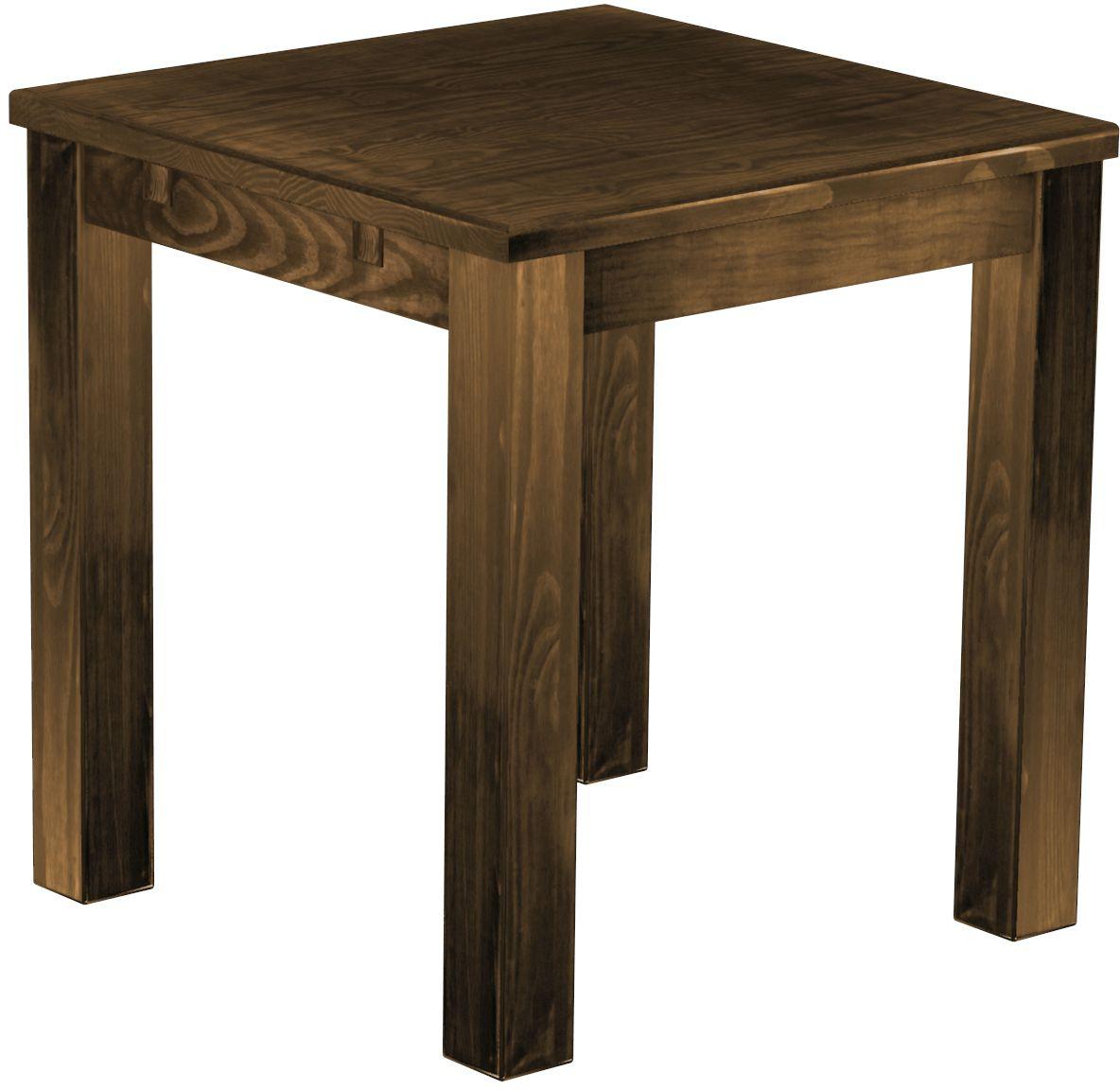Esstisch nussbaum massiv antik  Tisch 73x73 Eiche Antik