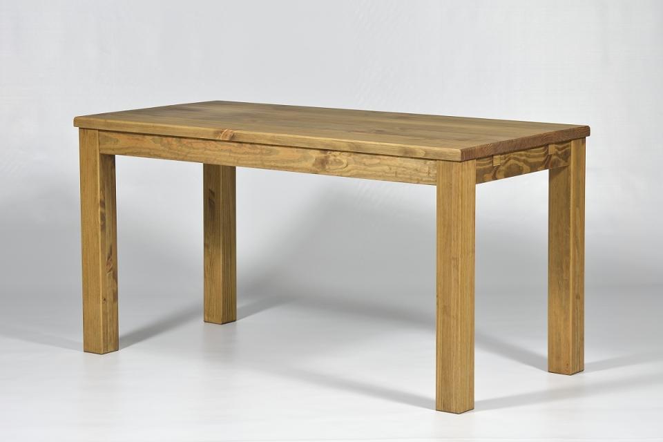 esstisch holz tisch pinie massiv 120 x 73cm esszimmertisch sofort lieferbar ebay. Black Bedroom Furniture Sets. Home Design Ideas